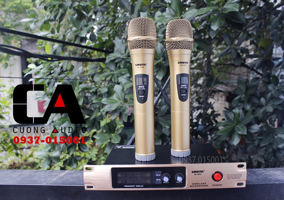 micro karaoke không dây Shure SH300G