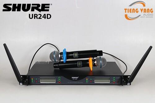 Micro không dây Shure UR24D cao cấp