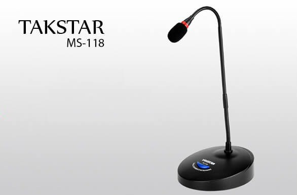 Micro hội nghị Takstar MS-118 chính hãng giá rẻ